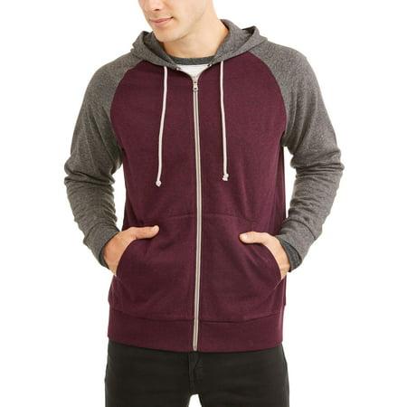 (Men's Fashion Full Zip Hoodie Up To Size 3Xl)