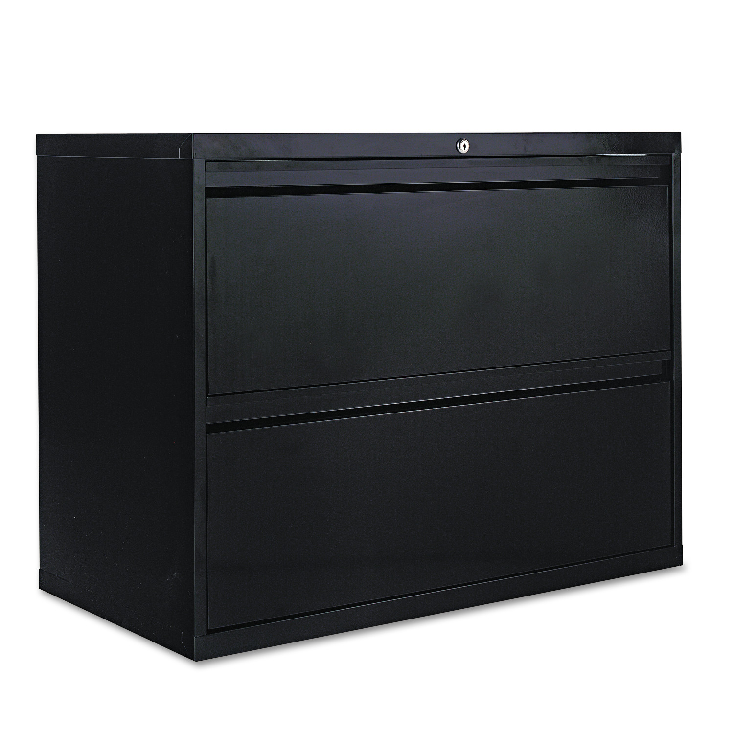 Alera Two-Drawer Lateral File Cabinet, 36w x 19-1/4d x 28-3/8h ...