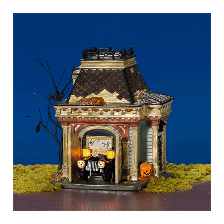 Department 56 Halloween Village Grimslys Garage Retired 54706