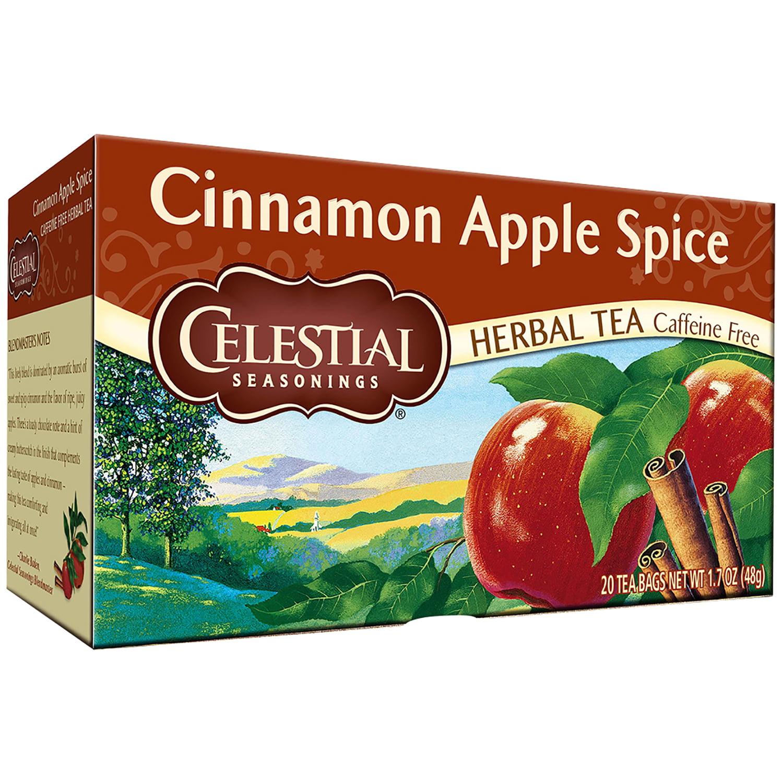 Celestial Seasonings Cinnamon Apple Spice Caffeine Free Herbal Tea 20 Ct (Pack of 24) by Celestial Seasonings, Inc., The Hain Celestial Group, Inc.