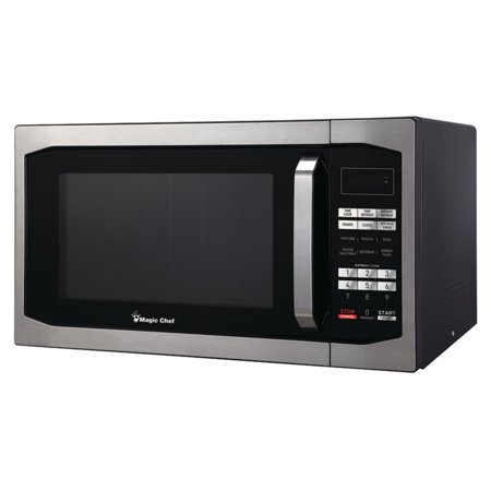 Magic Chef 1 6 Cu Ft 1100w Microwave Oven Silver