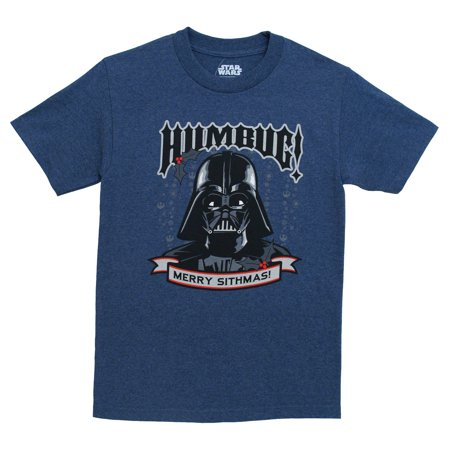 Merry Sithmas Christmas Darth Vader Humbug Star Wars Movie Adult T-Shirt