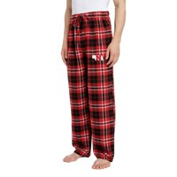Men's Scarlet/Black Nebraska Cornhuskers Ballot Flannel Lounge Pants