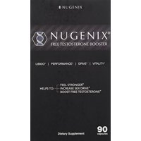 Nugenix Free Testosterone Booster, Test Booster, 180 Ct