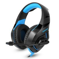 ONIKUMA Stereo Gaming Headset Over Ears Headset With Noise Reduction Microphone For PC, PS4, XBOX ONE, IPAD And Laptop,Blue