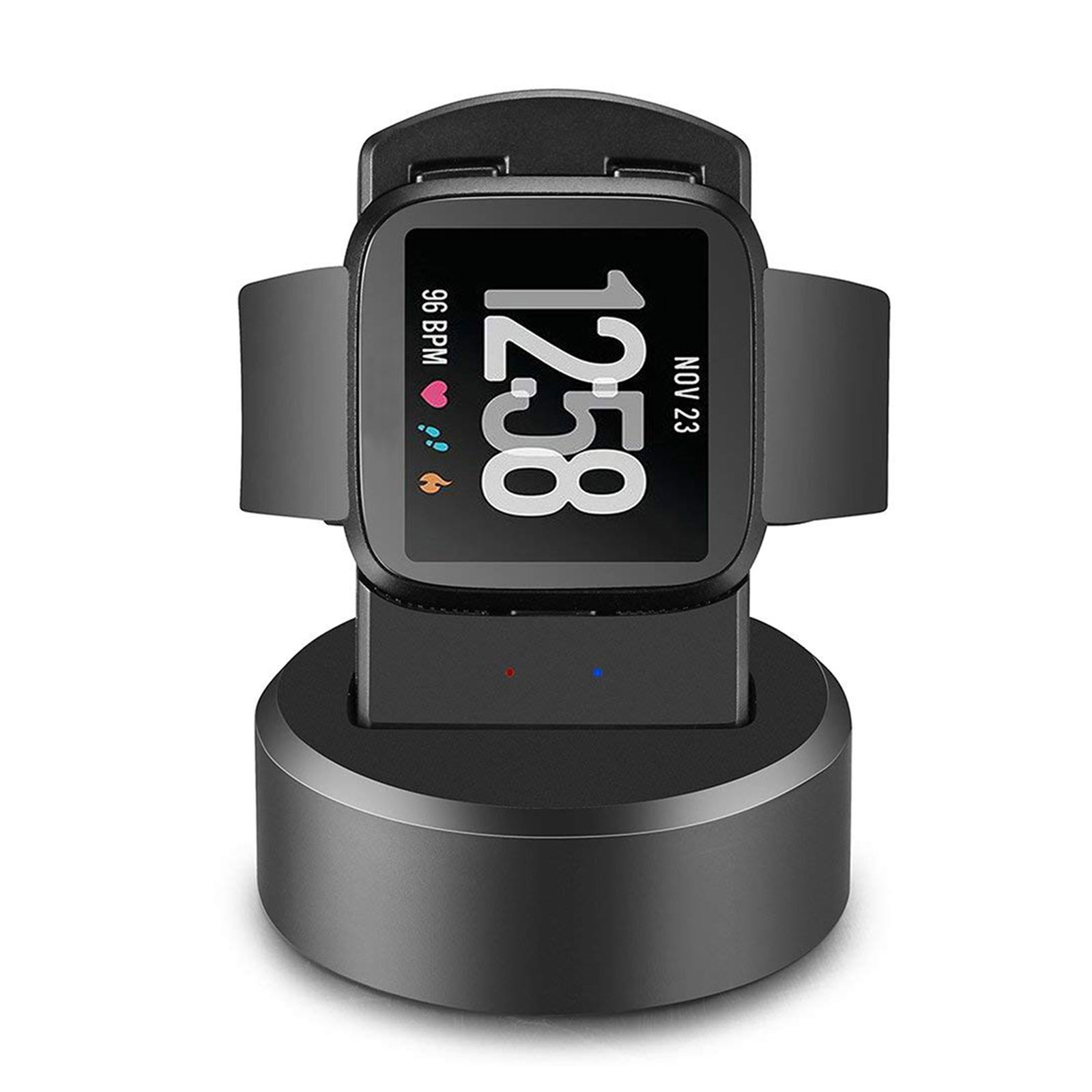 For Fitbit Versa Smart Watch USB Charging Cable Power Charger Dock Cradle Stand