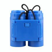 Dalazy Telescope Portable Kid Binocular Foldable Outdoor Observing Tool High Resolution Children Binocular, Blue