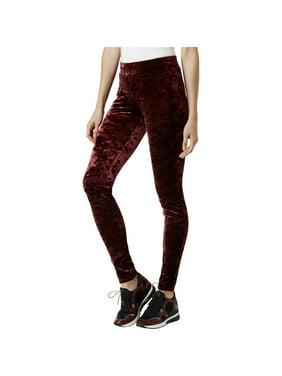 6b367f4521b8b Product Image MICHAEL Michael Kors Womens Petites Velvet Flat Front Leggings