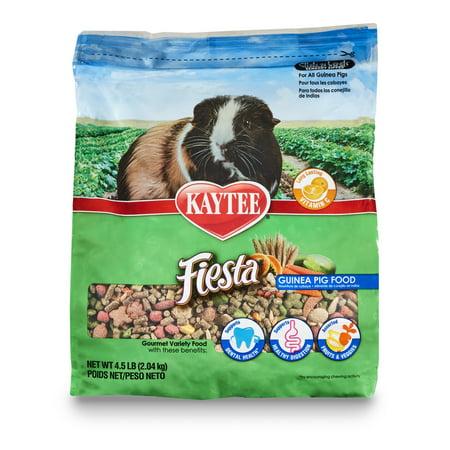 Kaytee Forti Diet Guinea Pig - Kaytee Fiesta Guinea Pig Food, 4.5 lb.