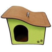 Cat/Dog Life Home and Travel Pet House, Red
