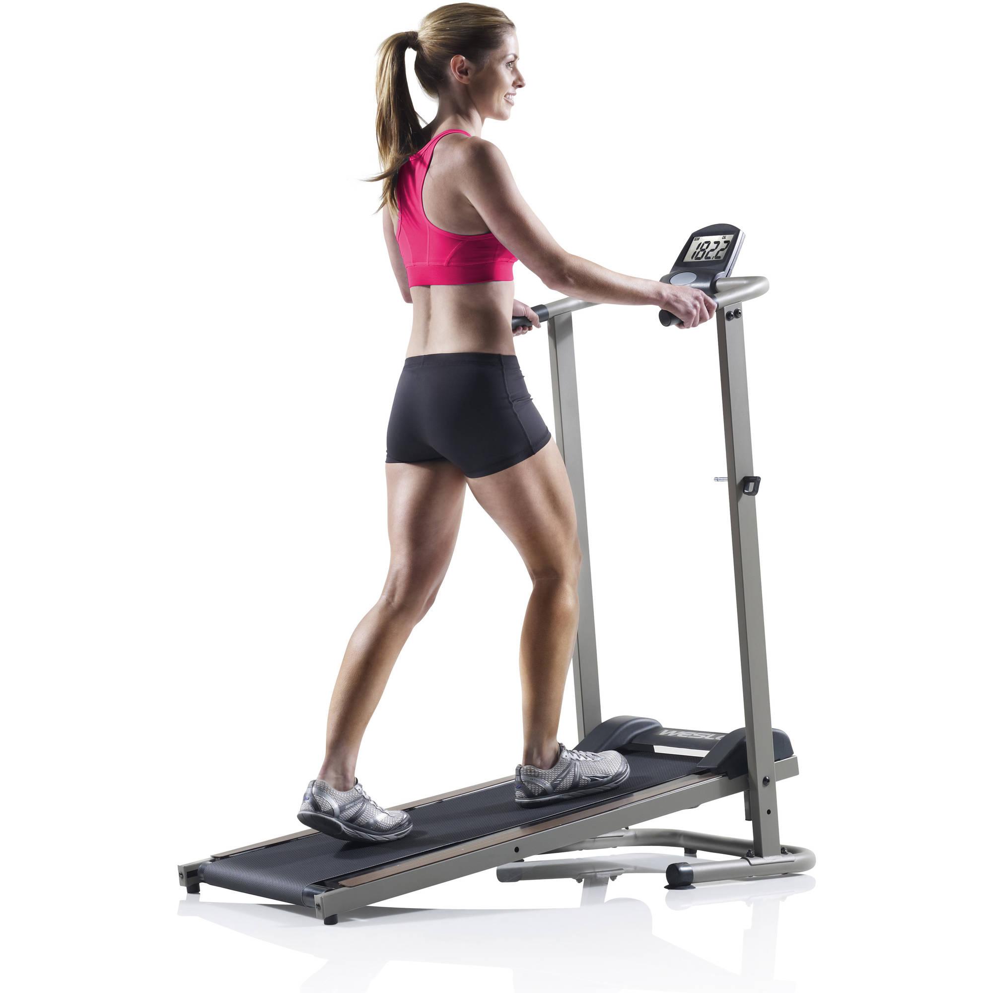 Weslo CardioStride 3.0 Manual Treadmill with Spacesaver Design