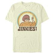 Scooby Doo Men's Velma Jinkies Retro T-Shirt