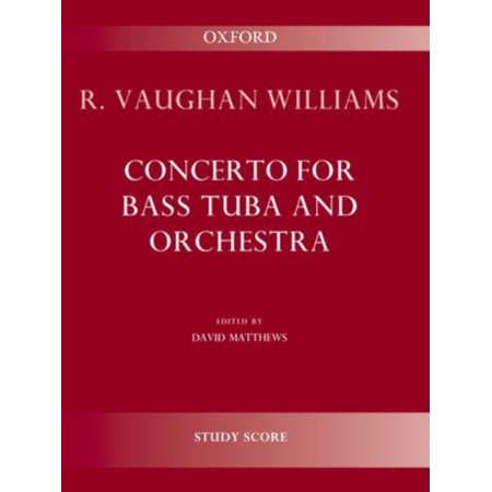Concerto for bass tuba and orchestra: Study score (Sheet music)