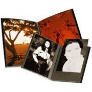 Itoya IA-12-7 The Original Art Profolio 8x10in. Photo 24 Sheet for 48 Pictures Black