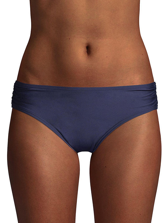 Side Shirred Bikini Bottom