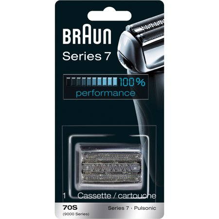 Braun Shaver Replacement Part 70 S Silver - Compatible with Series 7 shavers Braun Electric Shaver Reviews