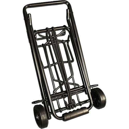 TravelKart Black Metal Luggage Cart