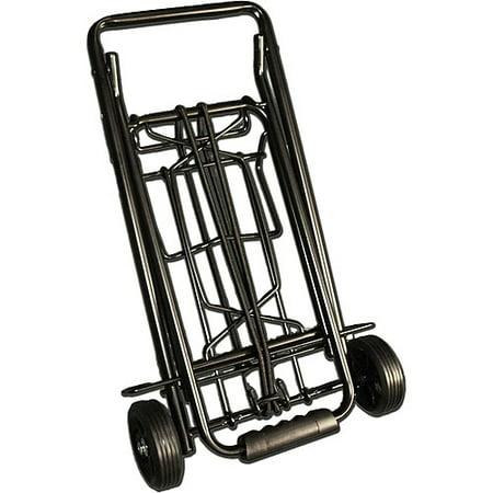 TravelKart Metal Luggage Cart, Black