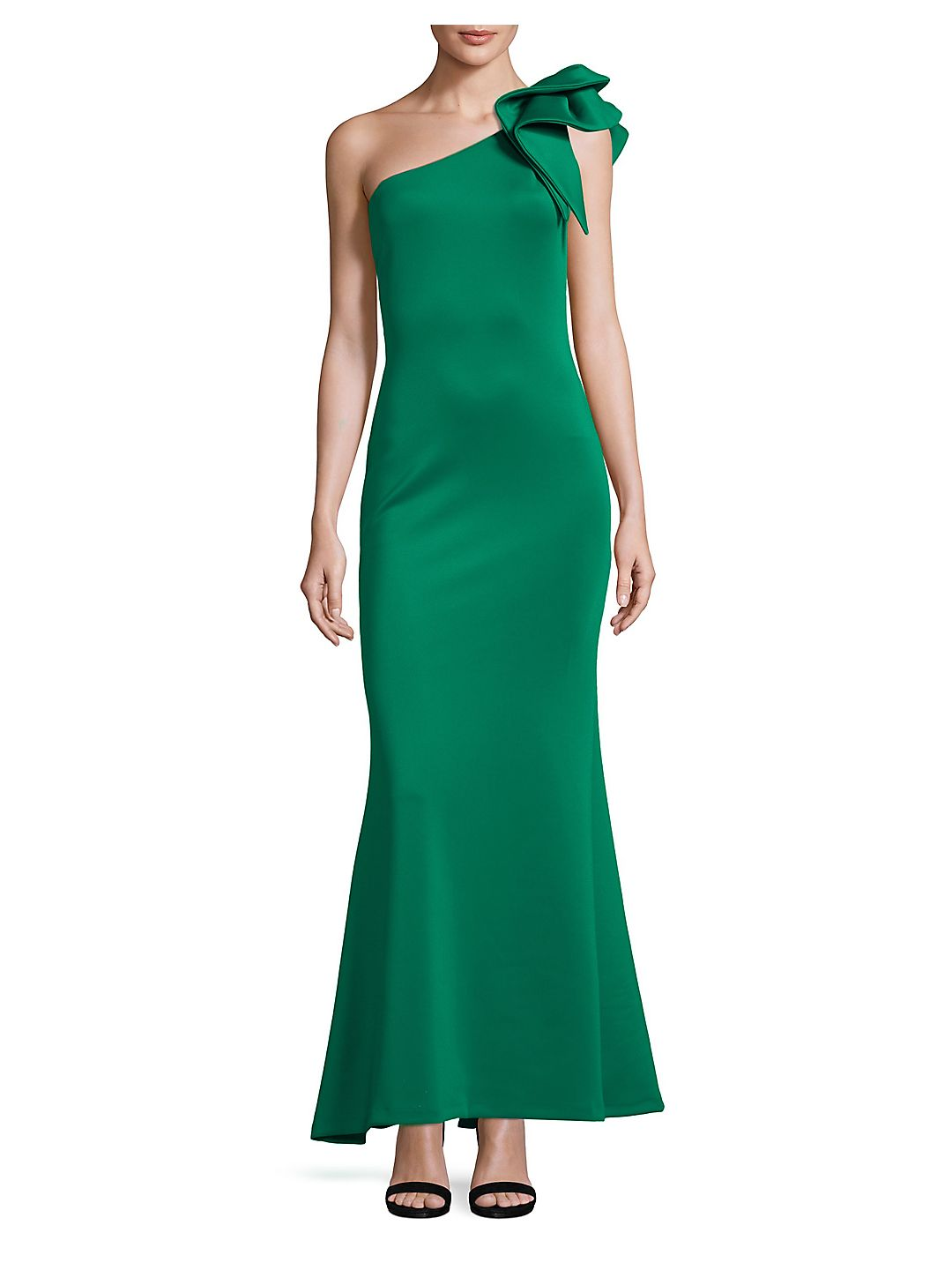 One-Shoulder Mermaid Gown