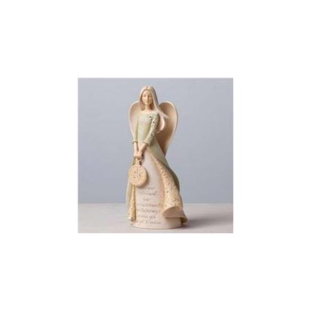 Foundations Bless Your Retirement Angel Holding Pocket Watch Figurine