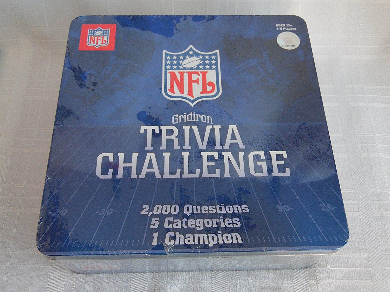 NFL Gridiron Trivia Challenge Game Tin by