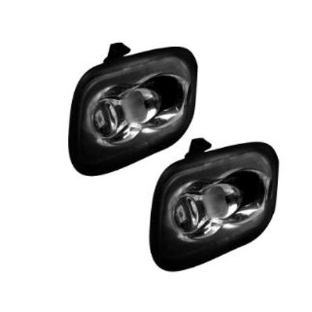 Recon Accessories 264243WH Puddle Light  Under Side Mirror; LED; White Bulb; Clear Lens; Set of 2 - image 1 of 1