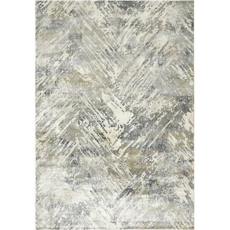 Dynamic Rugs CC463537950 3 ft. 11 in. x 5 ft. 7 in. Castilla 3537 Rectangle Modern Area Rug - 950 Grey & Blue - image 1 of 1