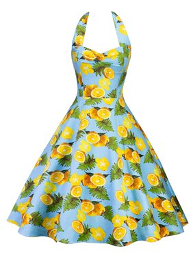 fc6bfcc198d6e Yellow Womens Dresses - Walmart.com