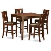East West Furniture East West 5 Piece Scotch Art Dining Table Set