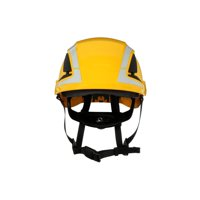 3M SecureFit Safety Helmet, X5002VX-ANSI, Yellow, vented