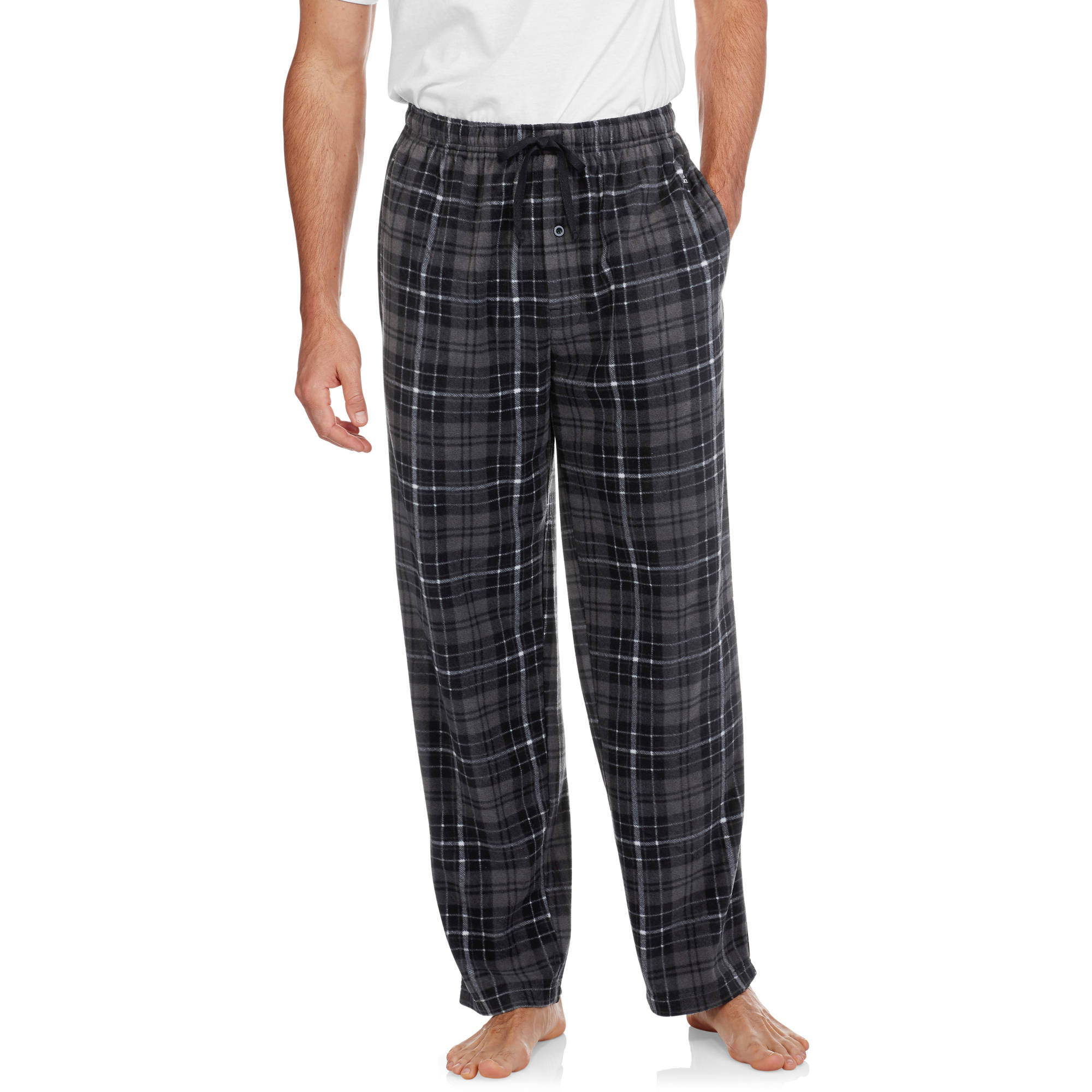 Heat Force Big Men's Microfleece Sleep Pants, 2XL