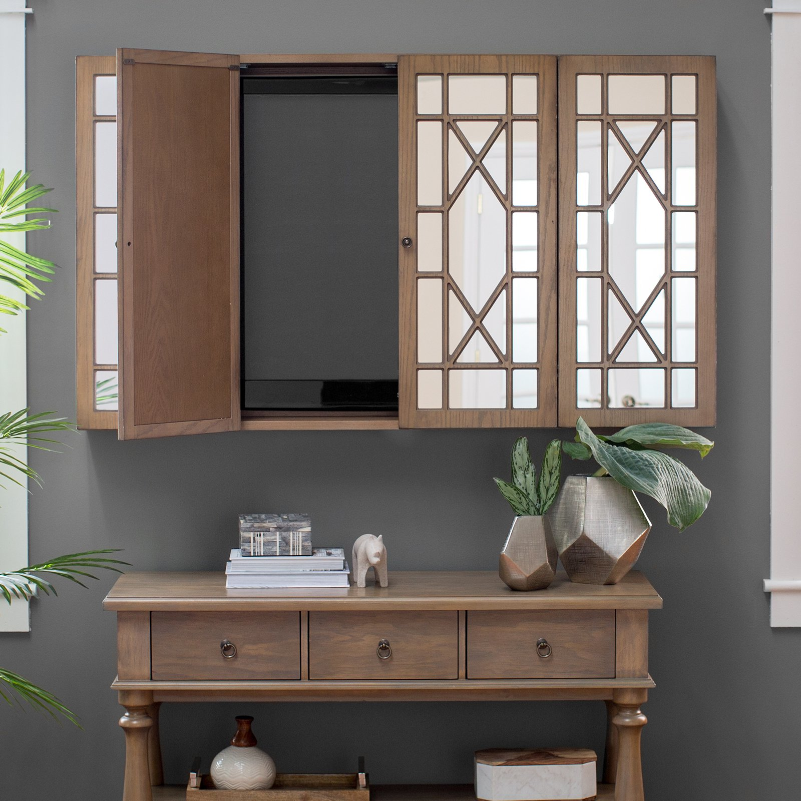 Tv Wall Cabinets With Doors Image Cabinets And Shower Mandra