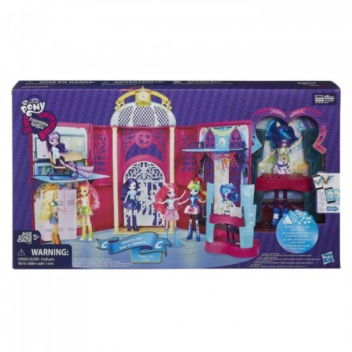 My Little Pony Equestria Girls Canterlot High Playset by Home Locomotion