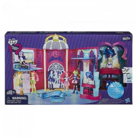 My Little Pony Equestria Girls Canterlot High Playset - My Little Pony For Girls