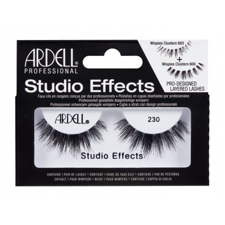 3ff00e0d694 (6 Pack) ARDELL Studio Effects Lashes - 230 Black - Walmart.com