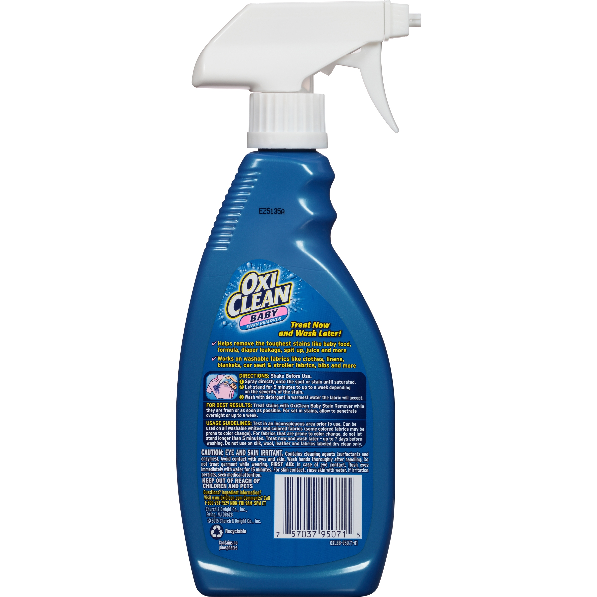OxiClean Baby Stain Remover 16 Ounces Walmart