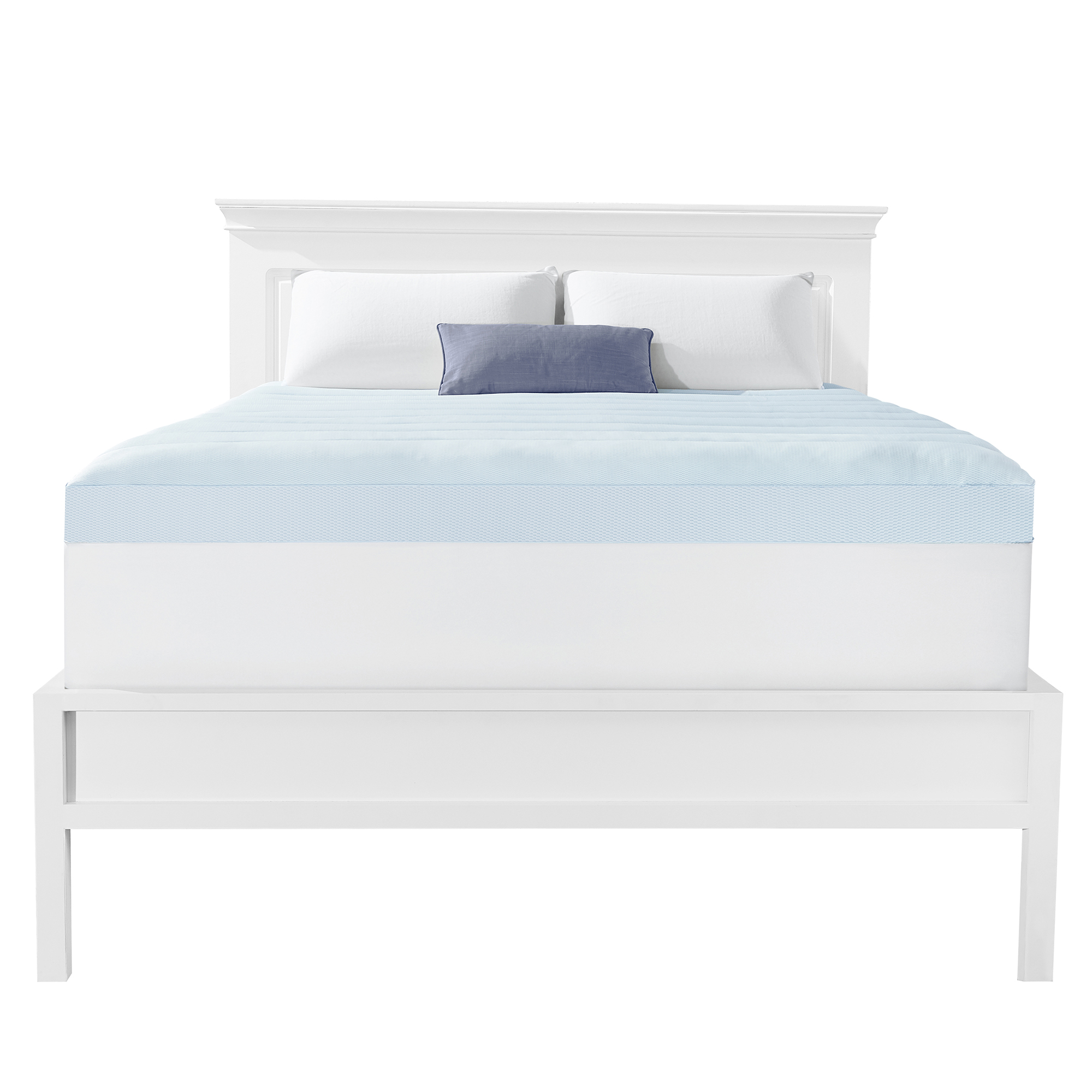 Dream Serenity 4 Inch Gel Memory Foam Topper With Pillowtop Cooling