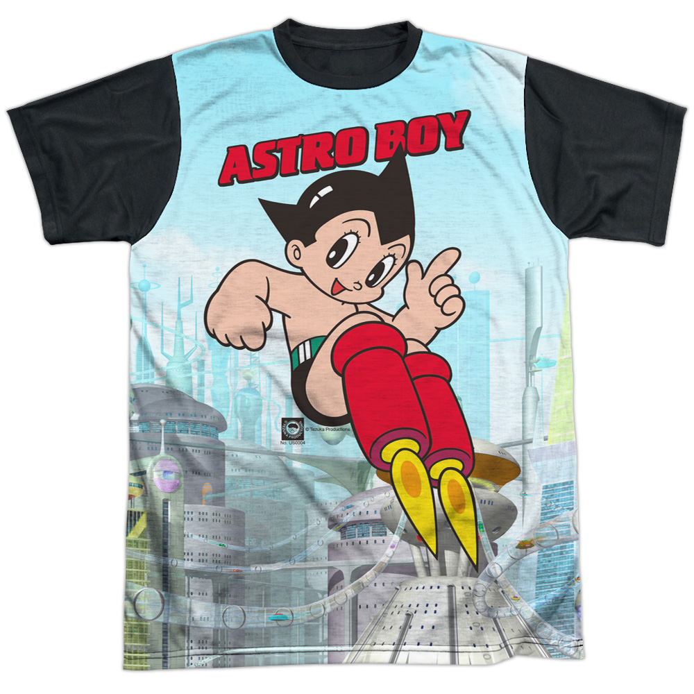Astro Boy City Boy Mens Sublimation Shirt