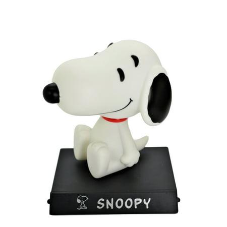 Peanuts Snoopy Bobble Head Car Office Home Ultra Detail PVC Doll. - Snoopy Peanuts