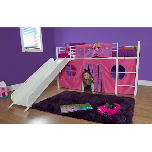 dhp curtain set for loft bed (bed sold separately) -component