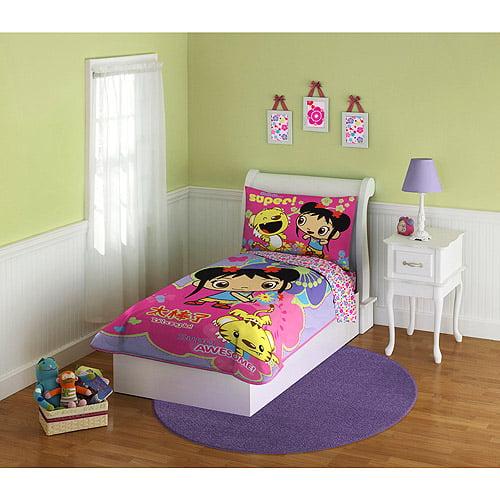 Baby Boom - Ni Hao Kai Lan 4-Piece Toddler Bedding Set