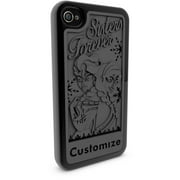 Apple iPhone 4 and 4S 3D Printed Custom Phone Case - Disney Frozen - Multiple Characters