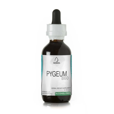 Pygeum Alcohol-FREE Herbal Extract Tincture, Super-Concentrated Wildcrafted Pygeum (Pygeum Africanum)
