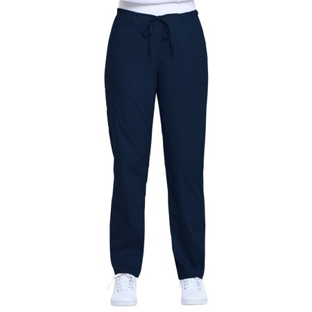 2 Pocket New Scrub (Scrubstar Women's Core Essentials Drawstring Scrub Pant with Rounded Pockets)