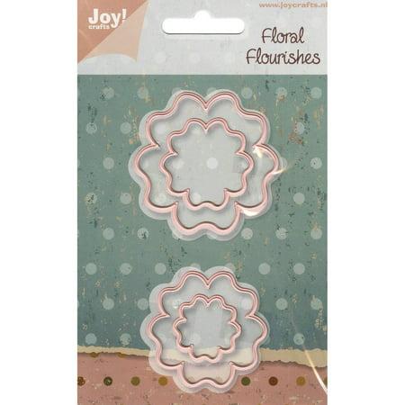 Joy crafts cut emboss die floral flourishes flower 3 for Joy craft flower dies