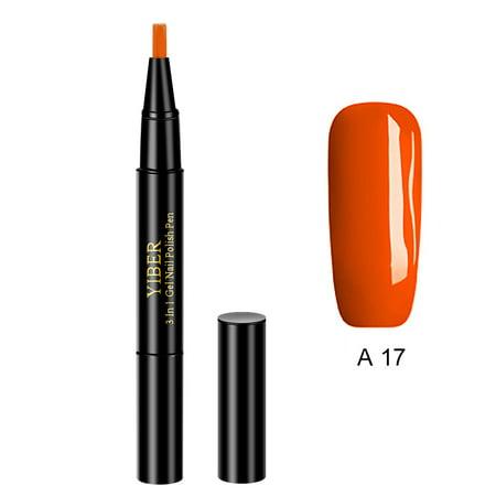 Glitter Nail Art Pen Uv Gel Nail Polish Pens Diy Nail Painting Design Beauty Tools Optional 20 Colors Walmart Canada