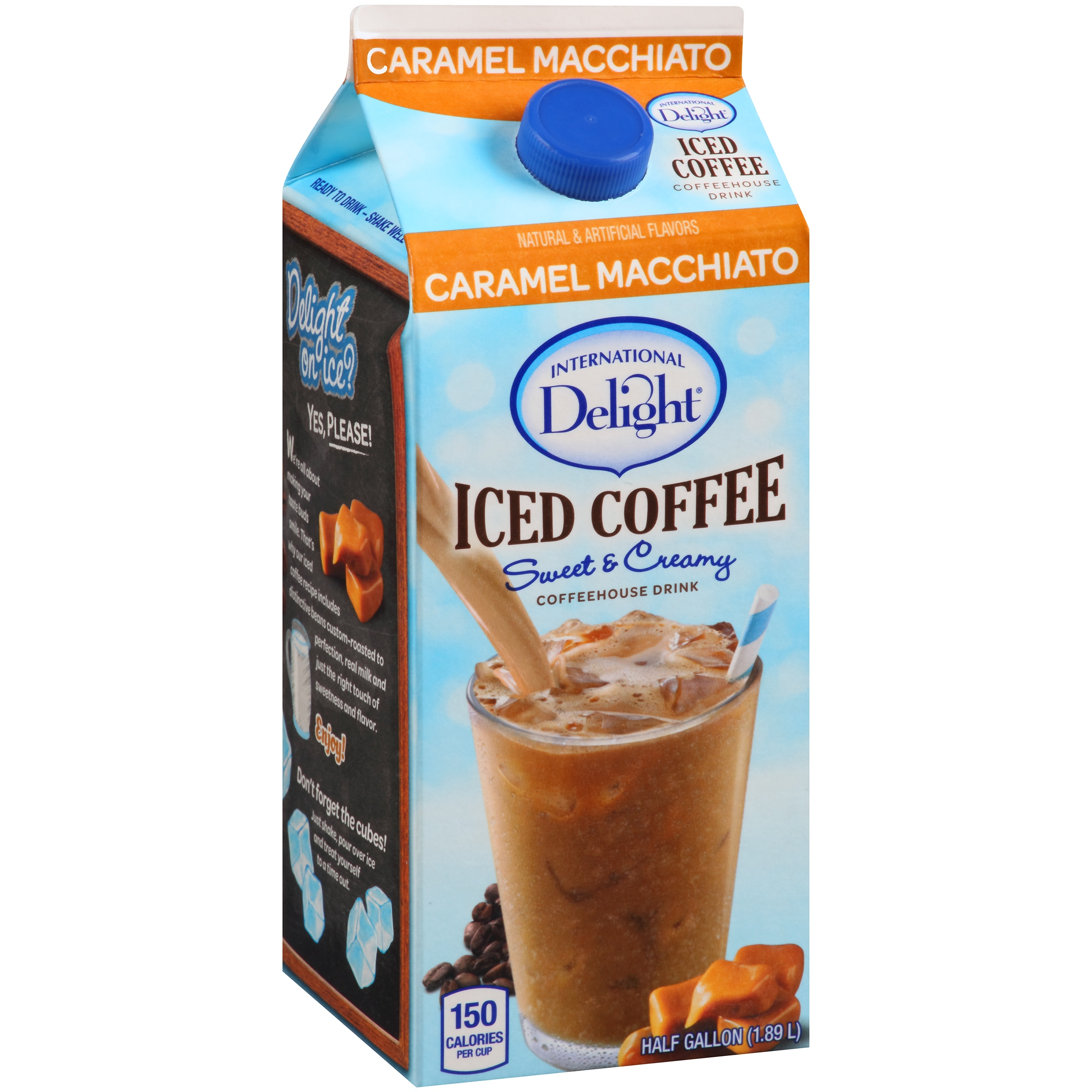 International Delight Hershey's Chocolate Caramel Creamer Liquid 64 fl. oz.