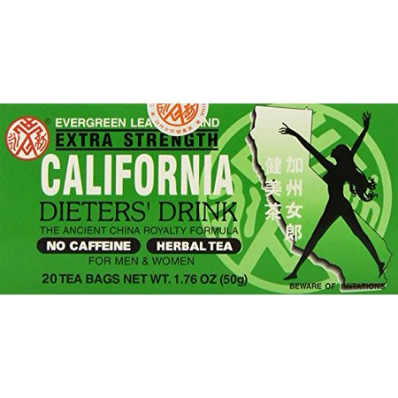 California Extra Strength Dieters Tea 20 Teabgas (4 Boxes)