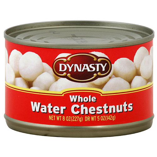 Canned water chestnuts