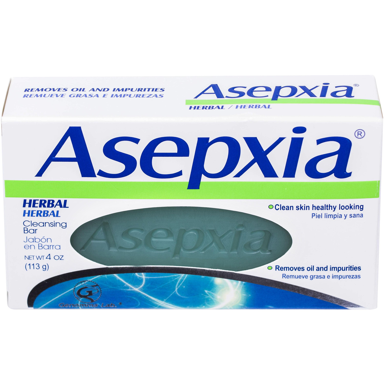 Asepxia Herbal Cleansing Bar Soap, 4 oz
